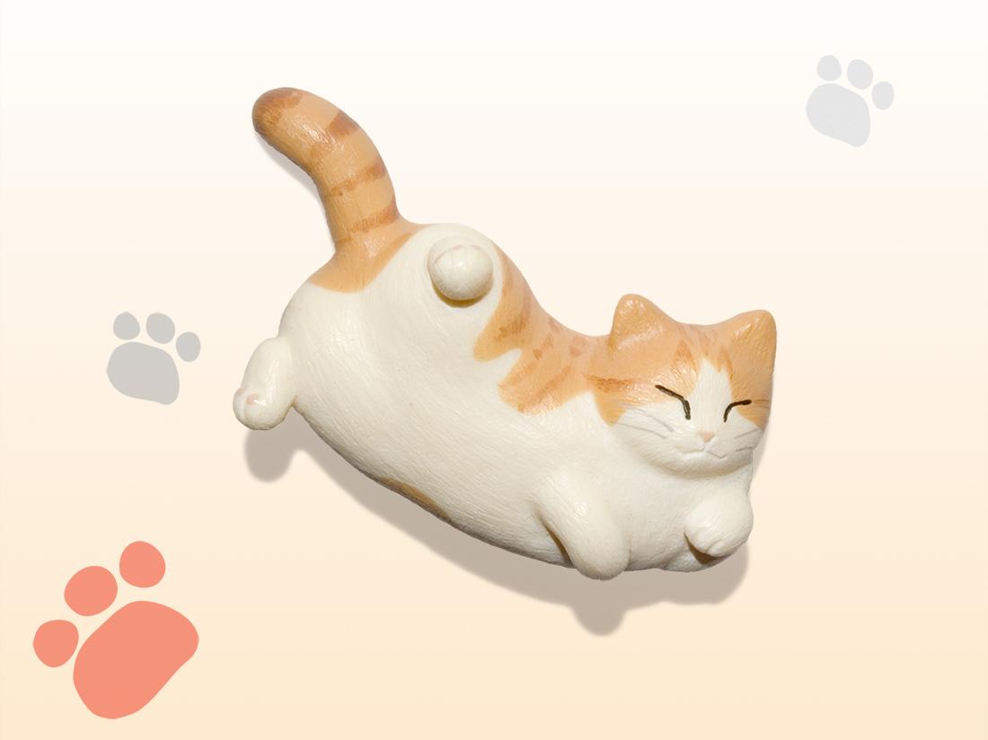 猫どん LadyCat vol.5 茶トラ白