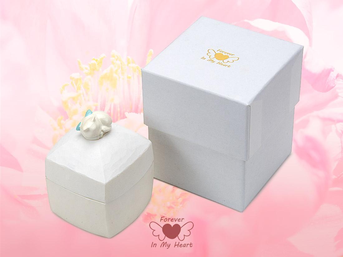 天使のペット メモリアルボックス(形見箱)