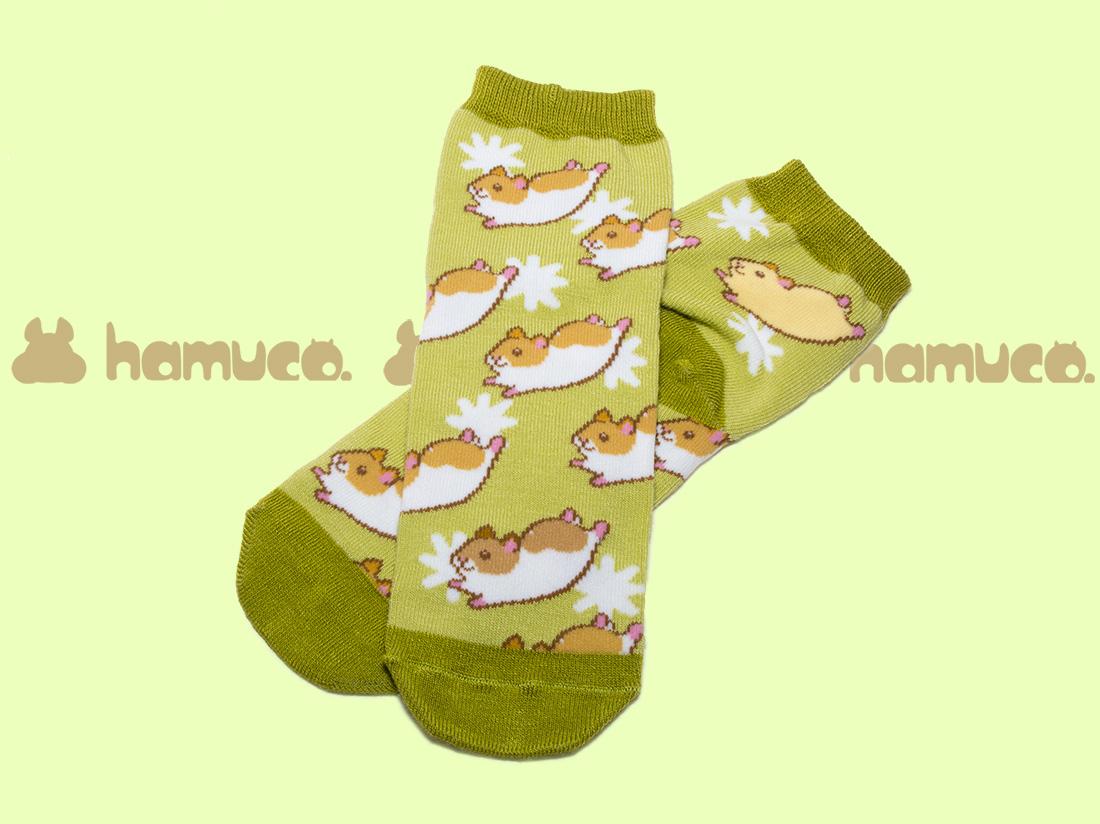 ペットラバーズ商品紹介、一日うきうきするハムスターの靴下