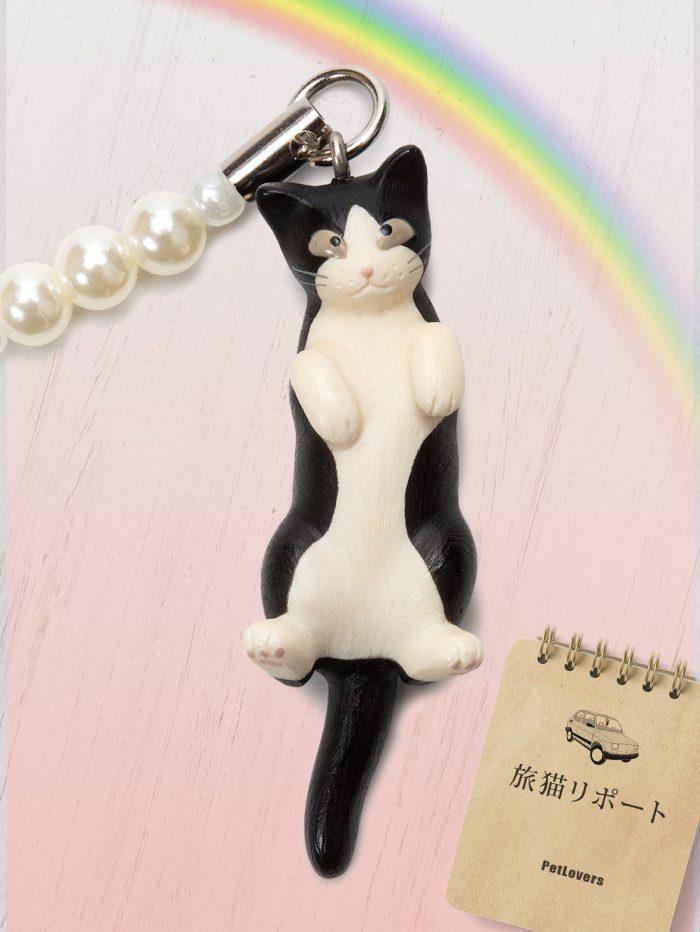ペットラバーズ商品紹介、 映画 旅猫リポート登場、猫の根付