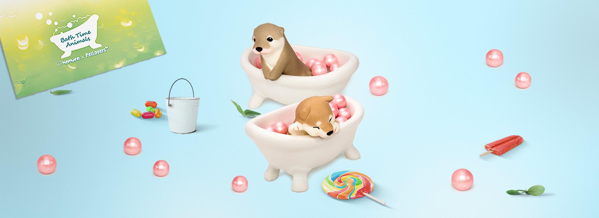 Bath Time Animals